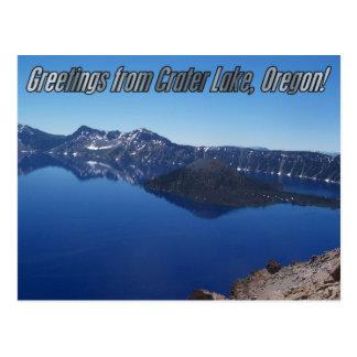 Crater Lake Oregon Post Card
