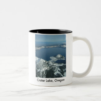Crater Lake, Oregon Two-Tone Mug