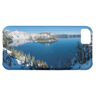 Crater Lake South Central Oregon in Winter Cover For iPhone 5C