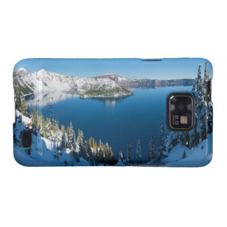 Crater Lake South Central Oregon in Winter Samsung Galaxy S2 Covers