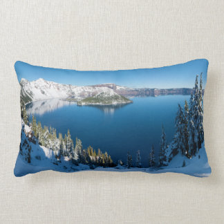 Crater Lake South Central Oregon in Winter Pillow
