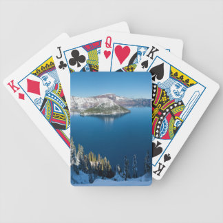Crater Lake South Central Oregon in Winter Card Decks