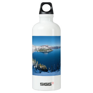 Crater Lake South Central Oregon in Winter SIGG Traveller 0.6L Water Bottle