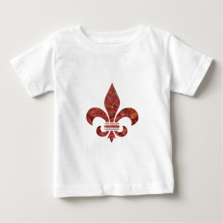 Crawfish Fleu de Lis Baby T-Shirt