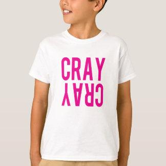 CRAY CRAY Kids Unisex Tee (pink)