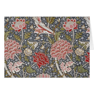 Cray Textile by William Morris Card