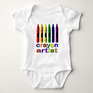 Crayon Artist Crayons Infant Creeper
