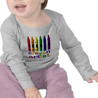Crayon Artist Crayons Infant Long Sleeve T-shirt