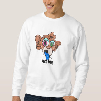 CraYon CiTy Monkey Money Sweater Pull Over Sweatshirts