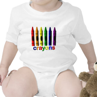 Crayon Crayons Artist Infant Creeper
