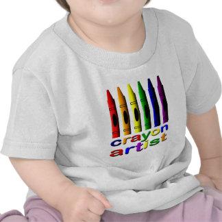 Crayon Crayons Artist Infant T-Shirt