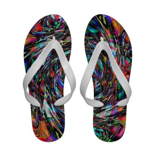 Crayon Sandals