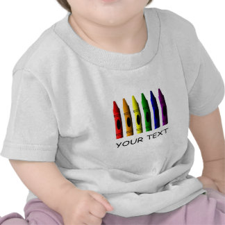 Crayon Infants Crayons Name T-shirt Template