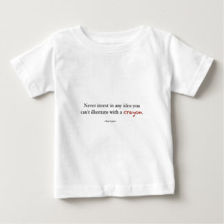 Crayon investing infant T-Shirt