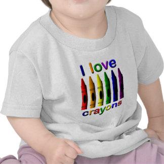 Crayon Love Crayons Infants T-shirt