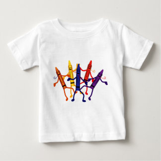 Crayon Party Infant T-Shirt