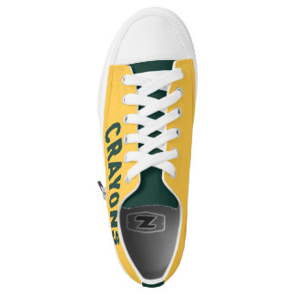 Crayon Themed Shoes Printed Shoes