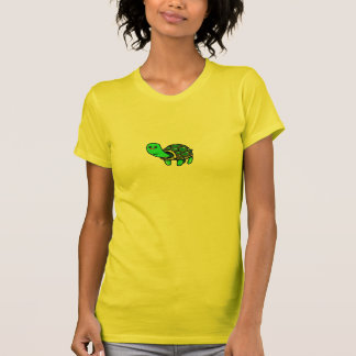 """Crayon"" Turtle Tshirts"