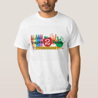 Crayons 2 Pencils Preschool Shirts