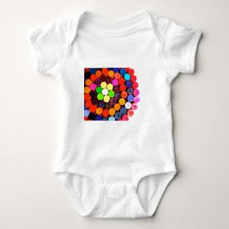 Crayons Baby Bodysuit