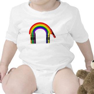 Crayons Color Crayon Rainbow Cute Infant Creeper
