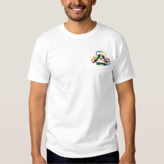 Crayons Embroidered T-Shirt