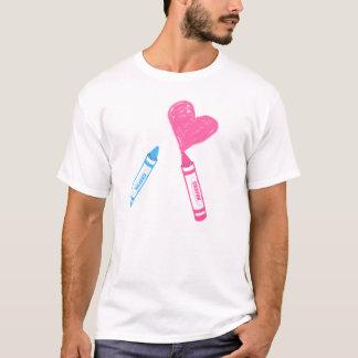 Crayons Love T-Shirt