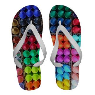 Crayons sandals