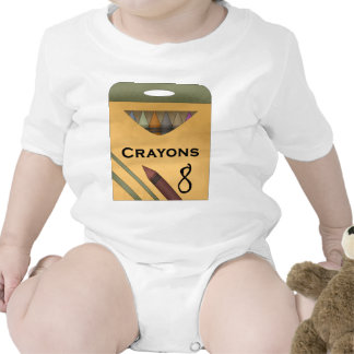 Crayons Rompers