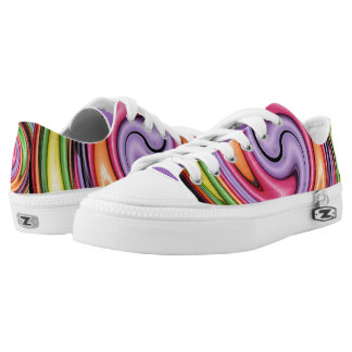 Crayons ZIPZ Low Top Shoes Printed Shoes