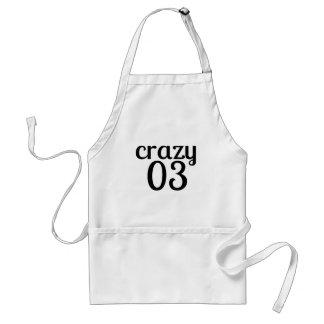 Crazy 03 Birthday Designs Standard Apron