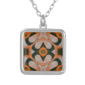 Crazy Beautiful Abstract Square Pendant Necklace