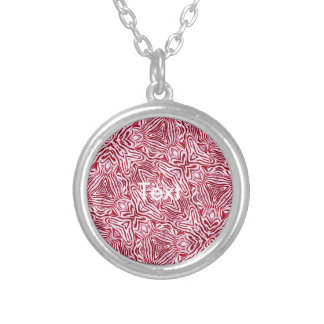 Crazy Beautiful Abstract Round Pendant Necklace