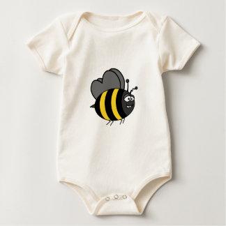 Crazy Bee Baby Bodysuit