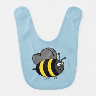 Crazy Bee Bib
