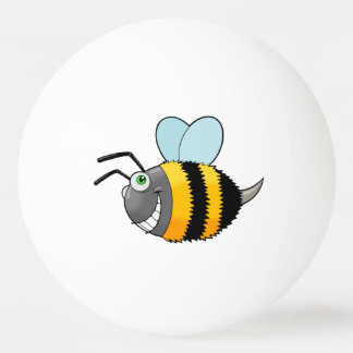 crazy bee ping pong ball