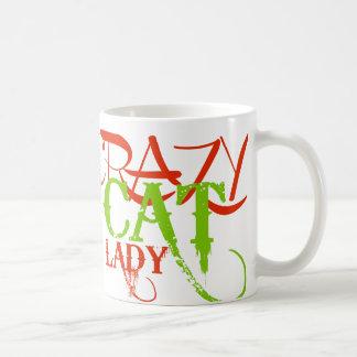 Crazy Cat Lady Basic White Mug