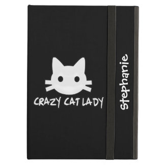 Crazy Cat Lady Case For iPad Air