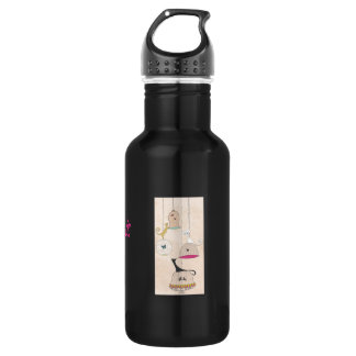 Crazy Cat Lady Cats n Birdcages 532 Ml Water Bottle