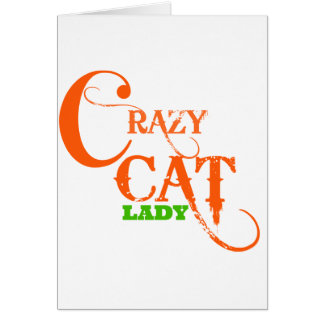 Crazy Cat Lady Collection Greeting Card