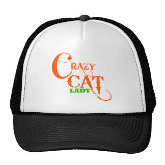 Crazy Cat Lady Collection Mesh Hats