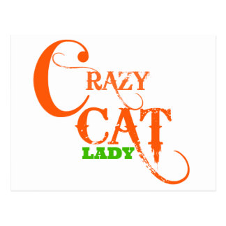 Crazy Cat Lady Collection Post Card