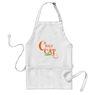 Crazy Cat Lady Collection Standard Apron