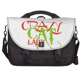 Crazy Cat Lady Commuter Bags
