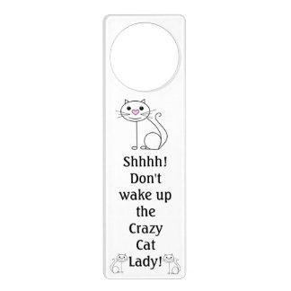 Crazy Cat Lady door hanger