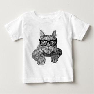 crazy cat lady geek cat baby T-Shirt