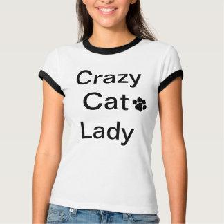 Crazy Cat Lady Ladies T-Shirt