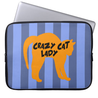 Crazy Cat Lady Laptop Computer Sleeve