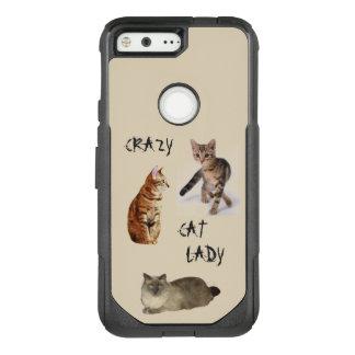 Crazy Cat Lady OtterBox Commuter Google Pixel Case