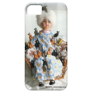 Crazy Cat Lady phone case by Cappy Sue iPhone 5 Covers